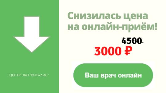 Snizhena Tsena Na Priyom Onlajn 3000 Rub